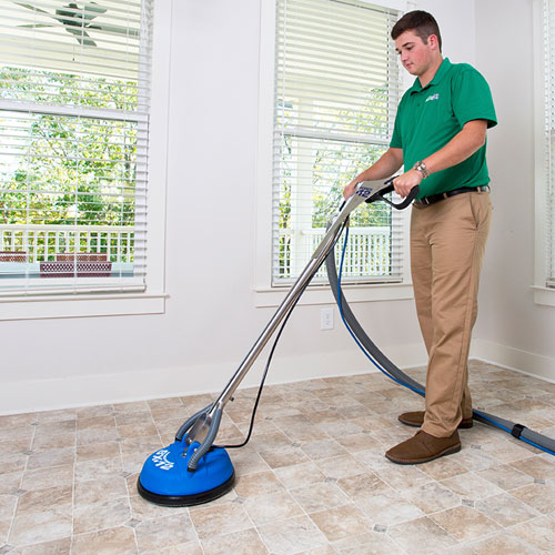 Stone, Tile and Grout Cleaning by Green Leaf Chem-Dry